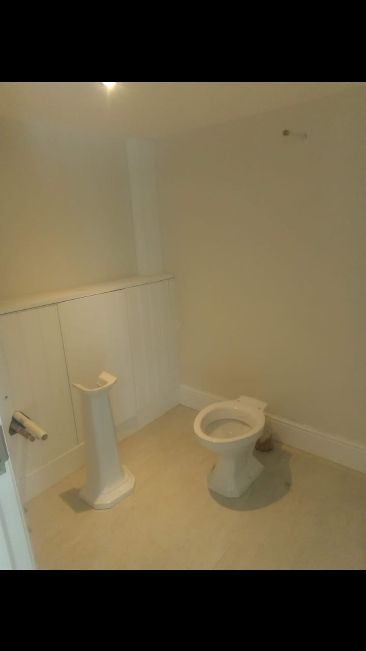 Toiler and Sink Installation