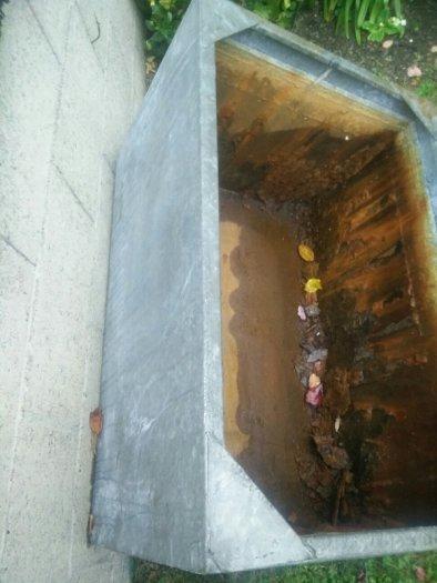 Galvanised Water Tank Replace