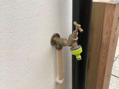 Fitting an outside Water Tap