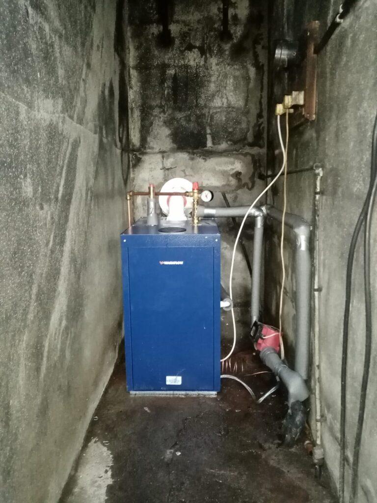 New Oil Boiler Installation - Warmflow Boiler